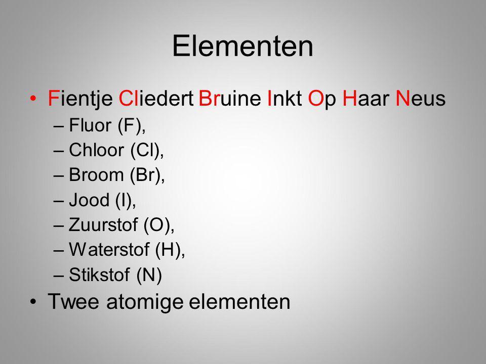 Elementen Fientje Cliedert Bruine Inkt Op Haar Neus