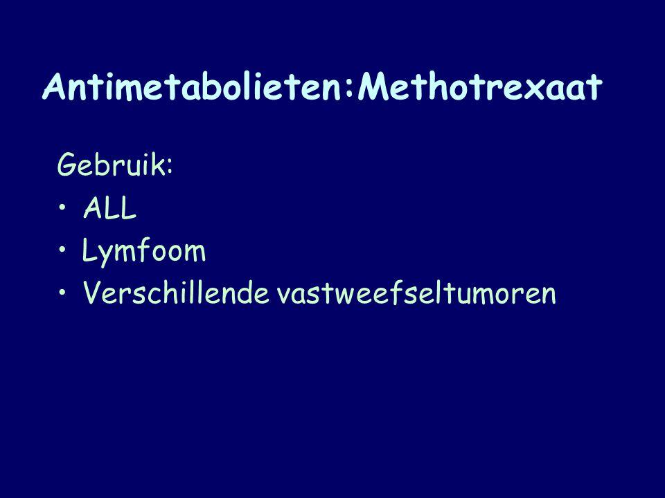 Antimetabolieten:Methotrexaat