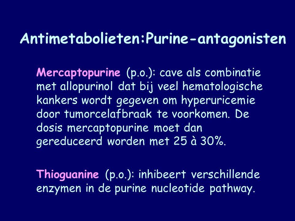 Antimetabolieten:Purine-antagonisten