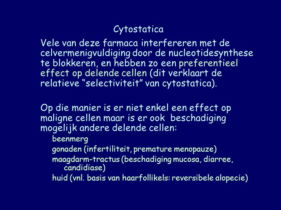 Cytostatica