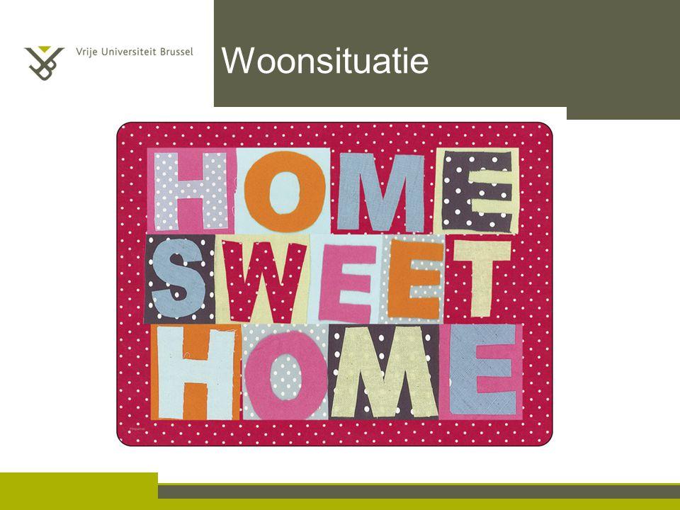 Woonsituatie Ouderen willen zo lang mogelijk thuis blijven wonen en thuiszorg geniet voorkeur. Aversie rusthuizen.