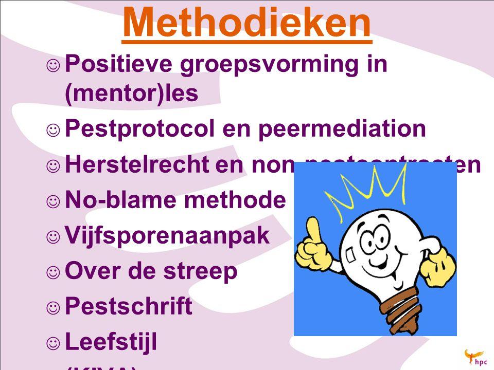 Methodieken Positieve groepsvorming in (mentor)les