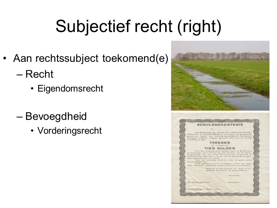 Subjectief recht (right)