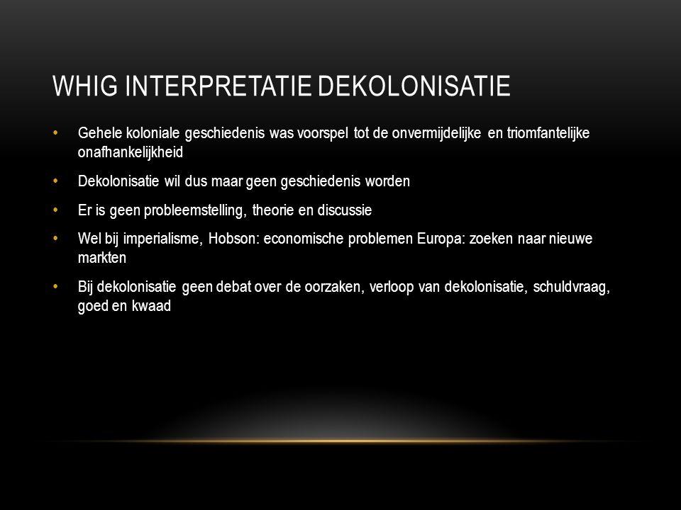 Whig interpretatie dekolonisatie