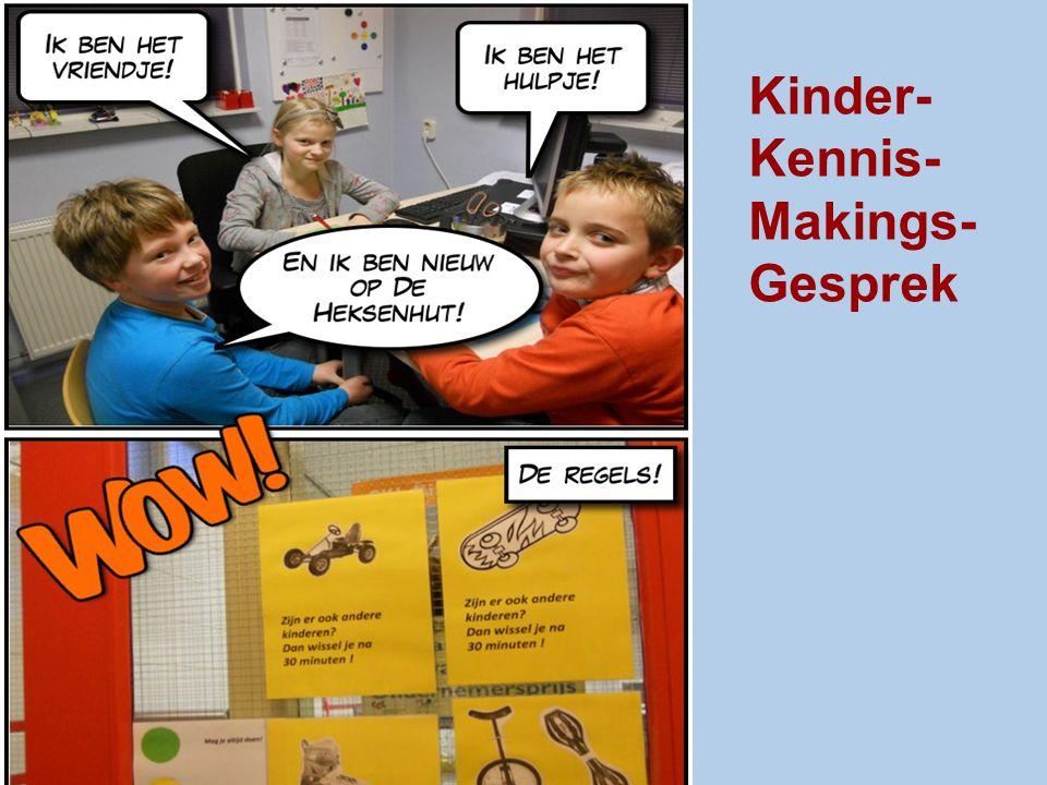 Kinder- Kennis- Makings- Gesprek -