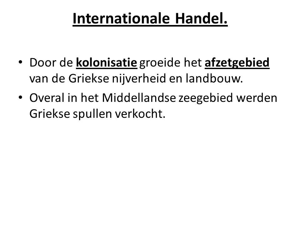 Internationale Handel.
