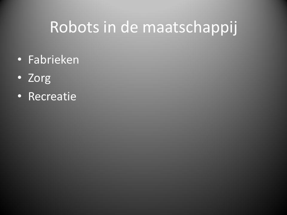 Robots in de maatschappij