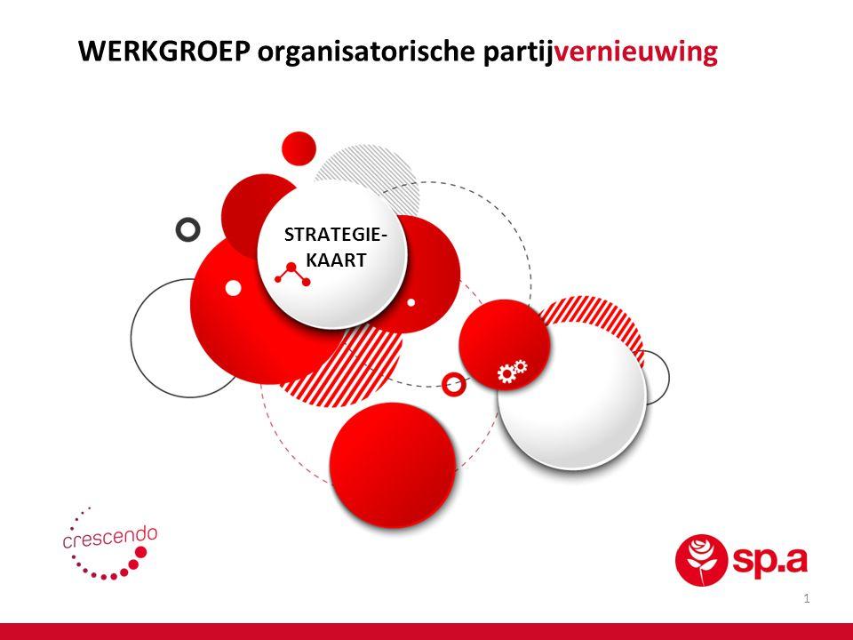 WERKGROEP organisatorische partijvernieuwing