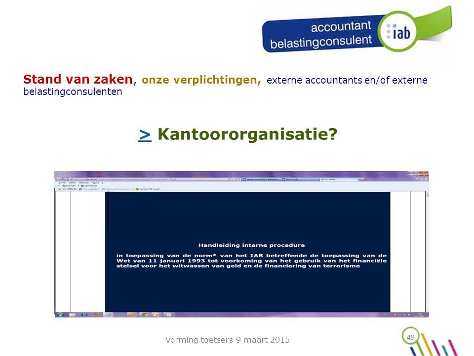 > Kantoororganisatie