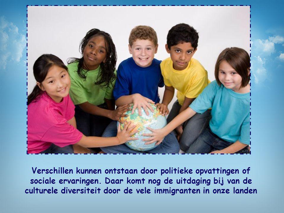 Verschillen kunnen ontstaan door politieke opvattingen of sociale ervaringen.