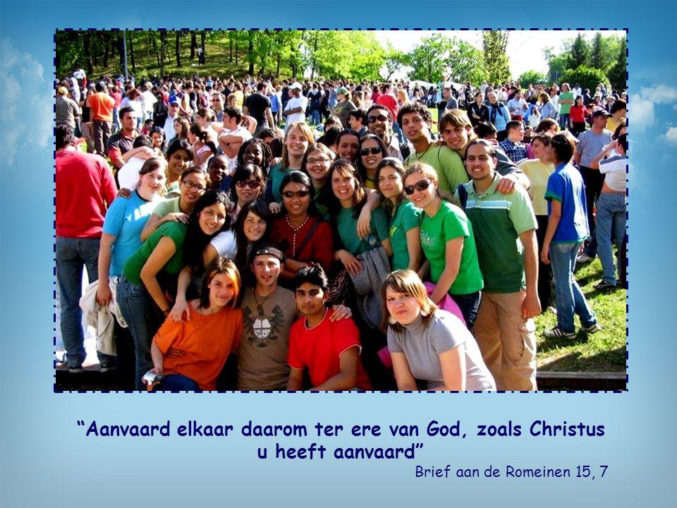 Aanvaard elkaar daarom ter ere van God, zoals Christus u heeft aanvaard