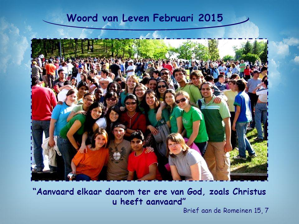 Woord van Leven Februari 2015