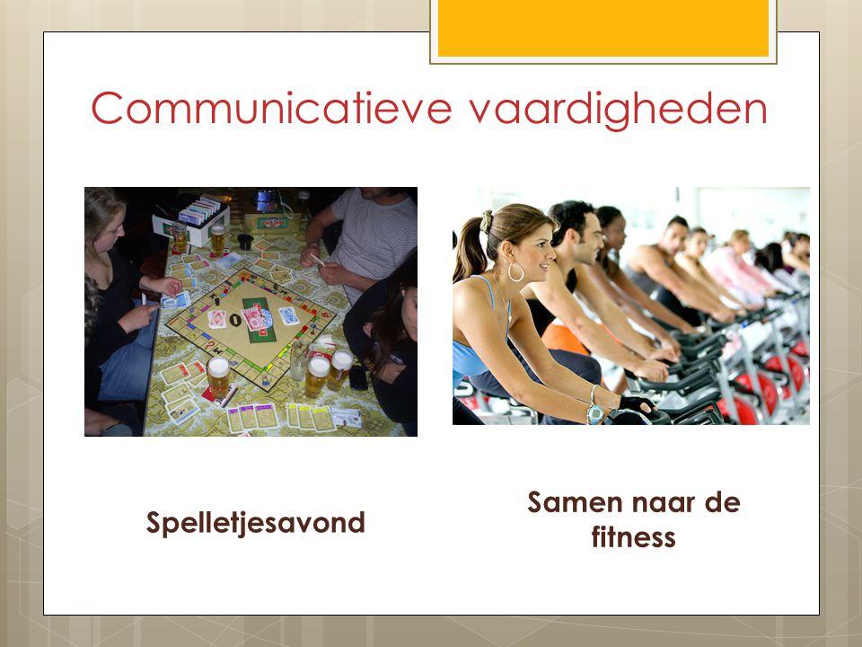 Communicatieve vaardigheden