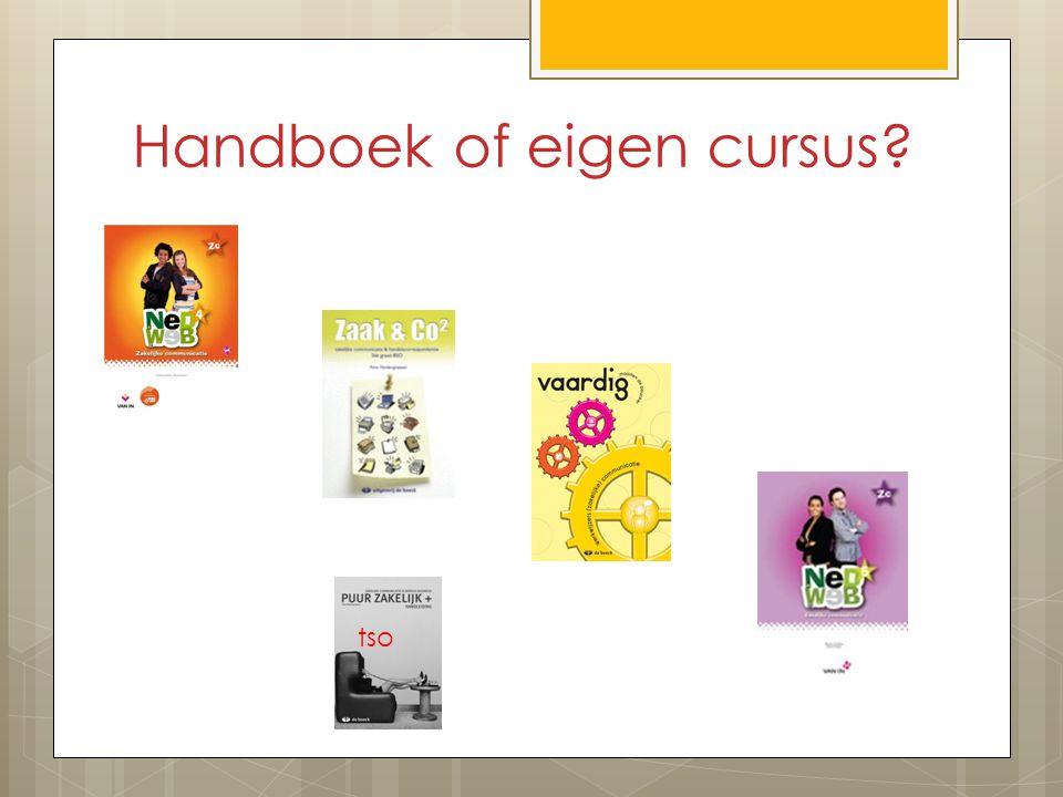 Handboek of eigen cursus