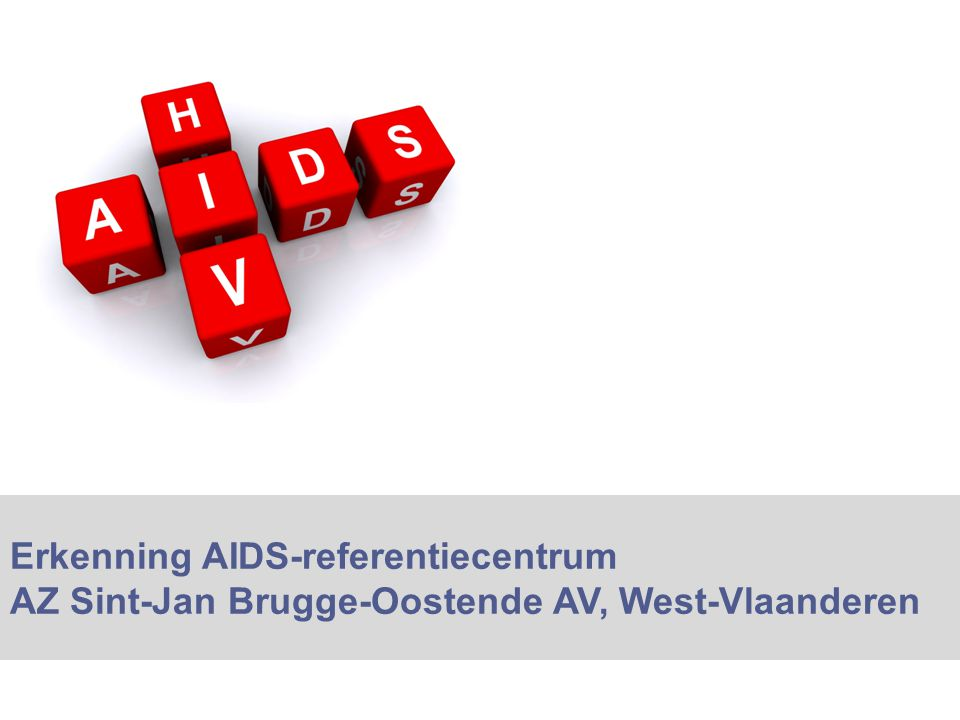 Erkenning AIDS-referentiecentrum