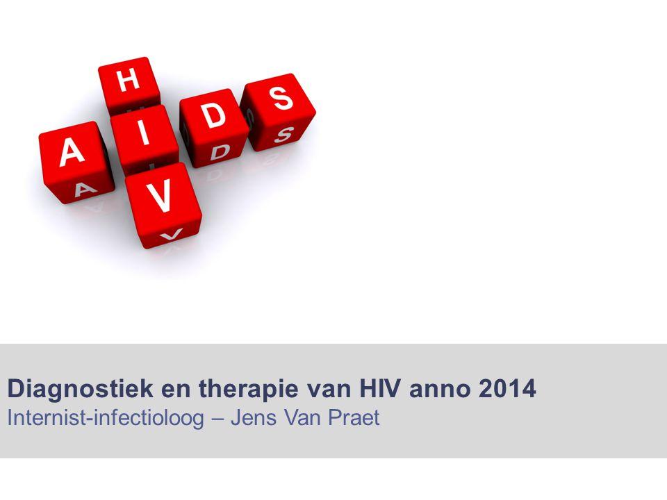 Diagnostiek en therapie van HIV anno 2014