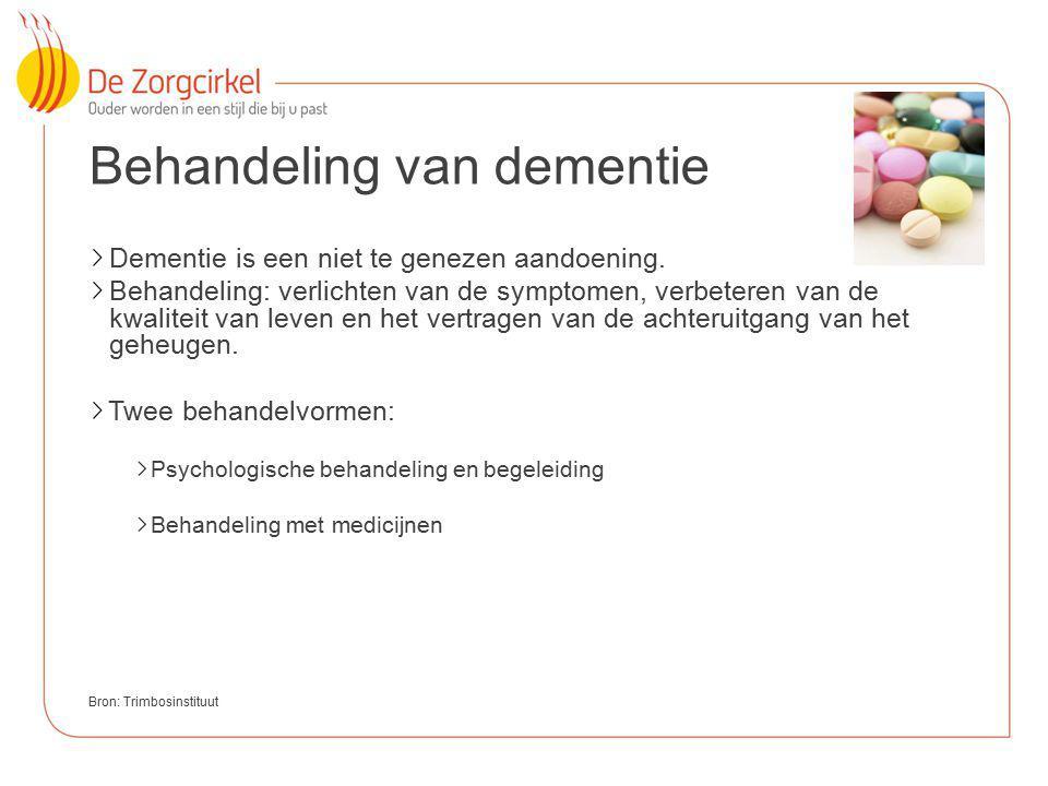 Behandeling van dementie