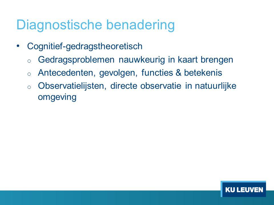 Diagnostische benadering
