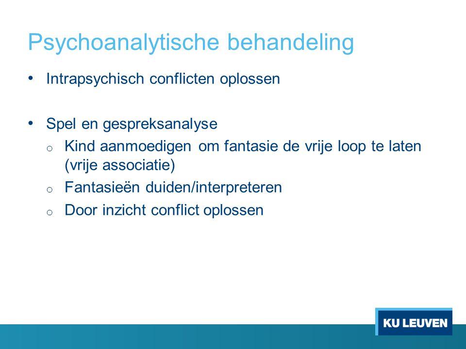 Psychoanalytische behandeling