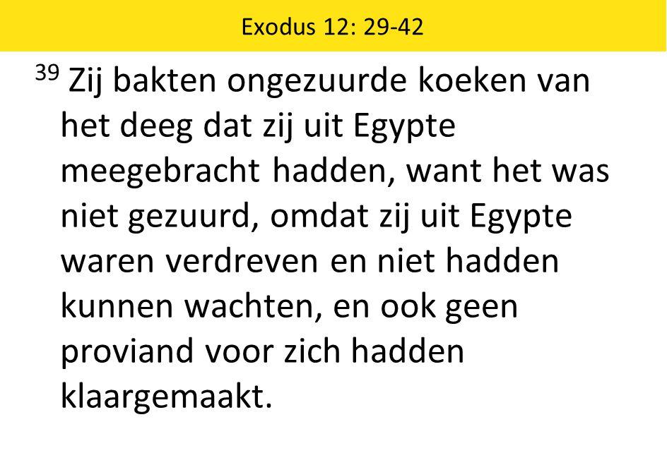 Exodus 12: 29-42