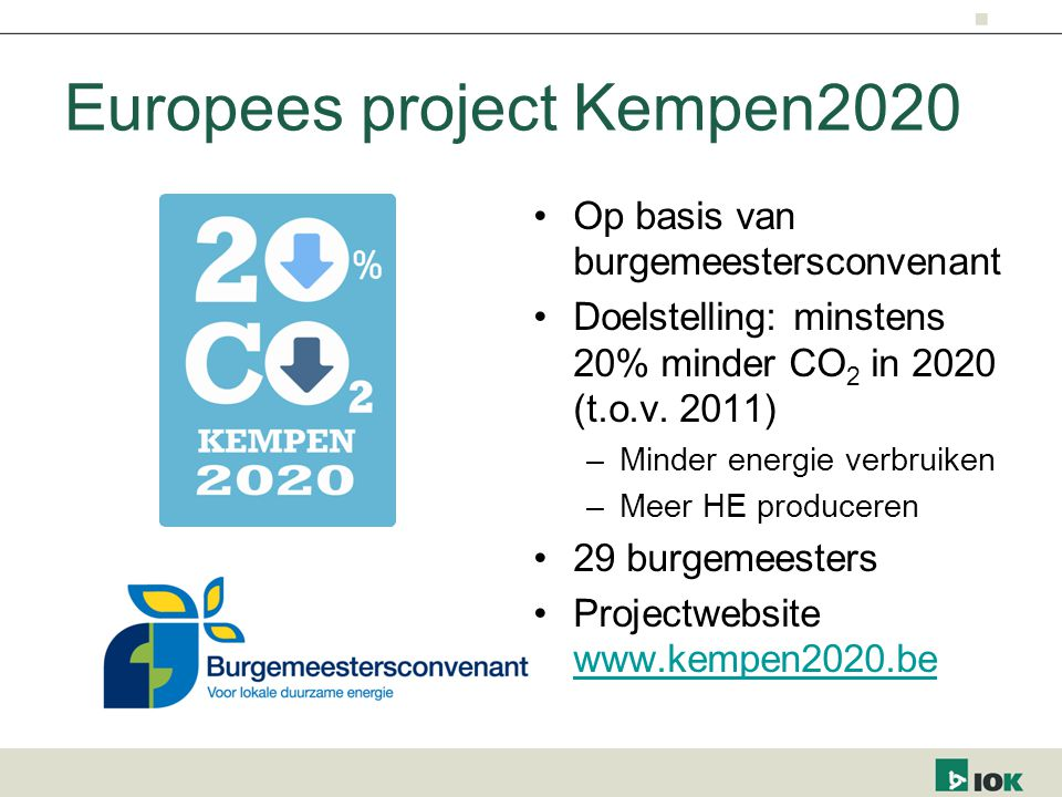 Europees project Kempen2020