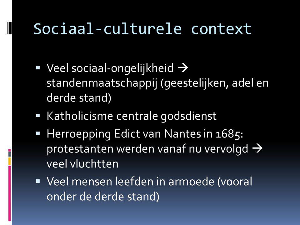 Sociaal-culturele context