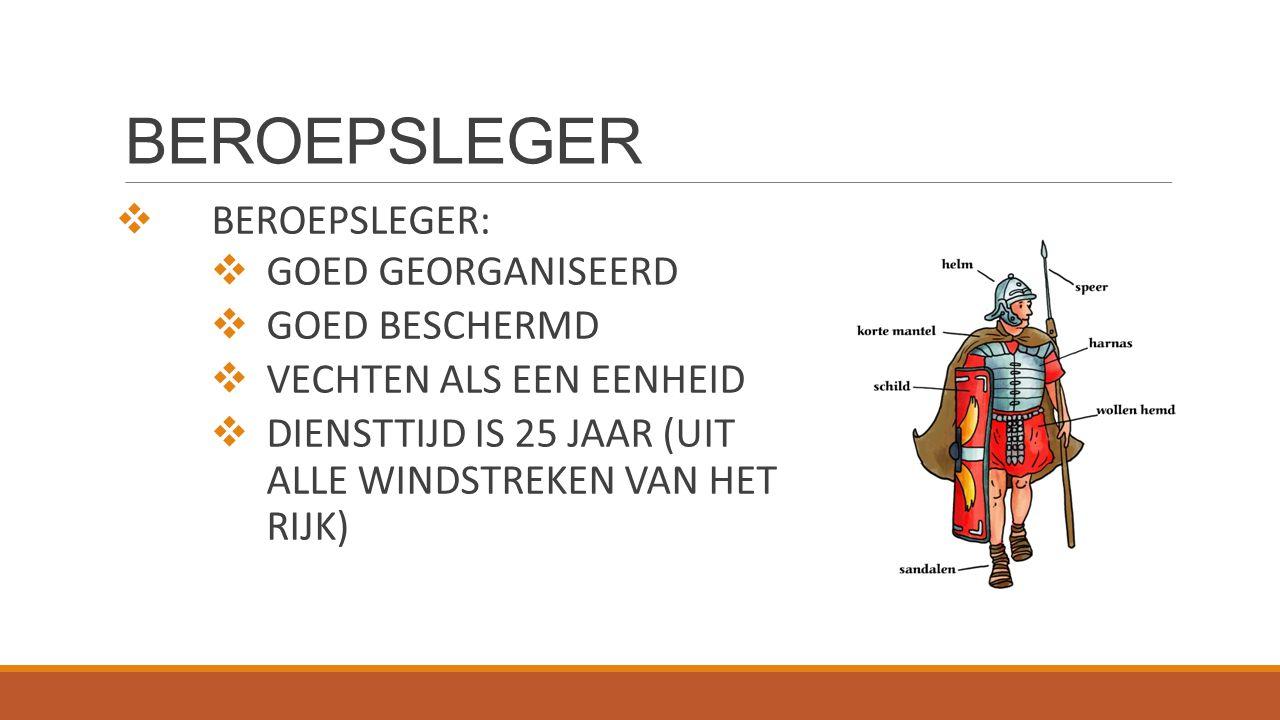 BEROEPSLEGER BEROEPSLEGER: GOED GEORGANISEERD GOED BESCHERMD