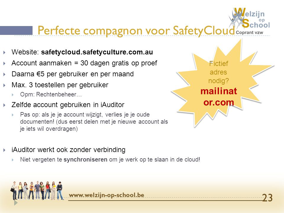 Perfecte compagnon voor SafetyCloud