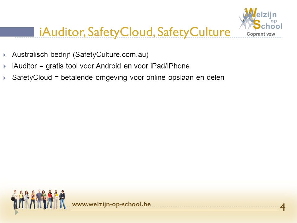 iAuditor, SafetyCloud, SafetyCulture
