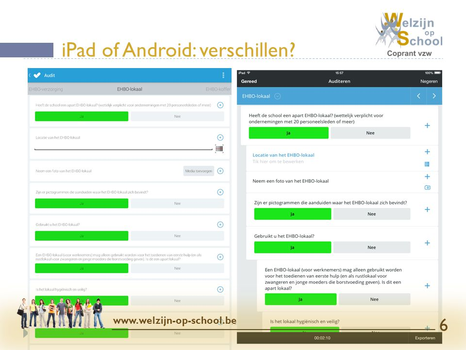 iPad of Android: verschillen