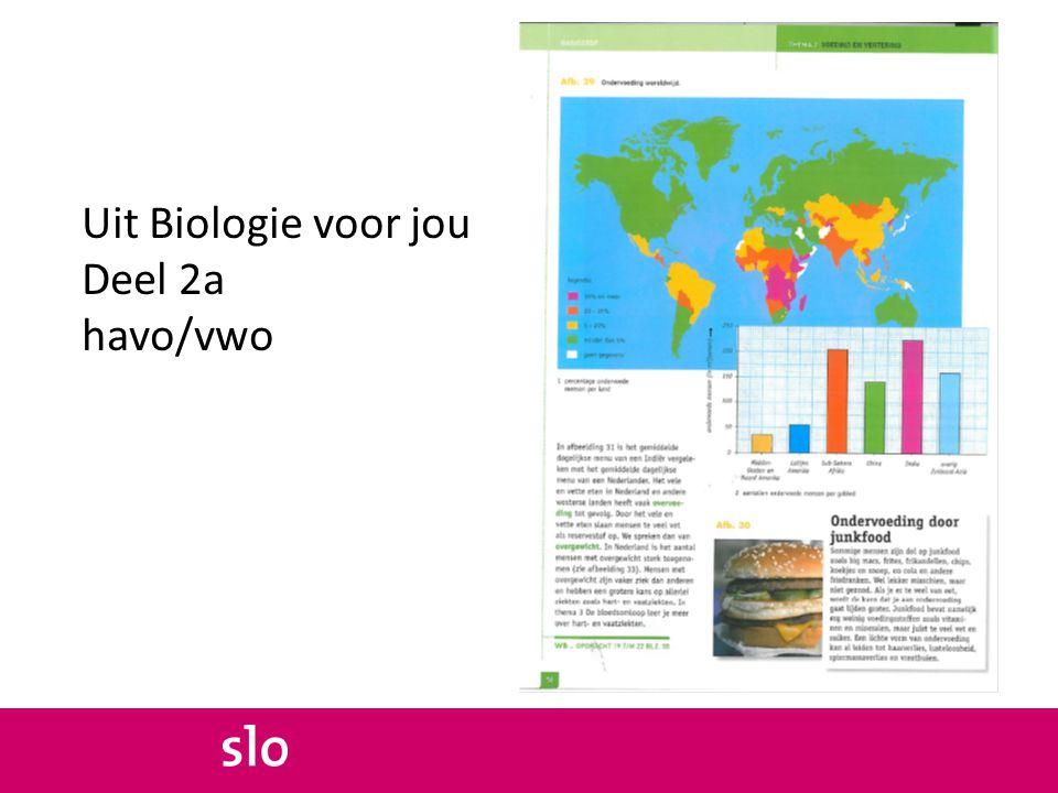 Uit Biologie voor jou Deel 2a havo/vwo
