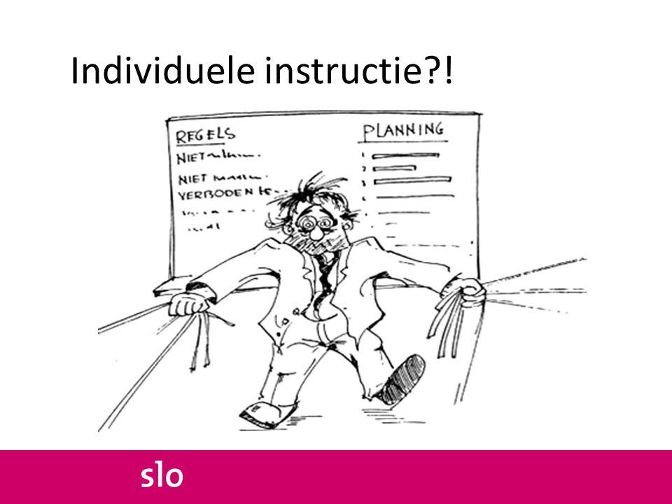 Individuele instructie !
