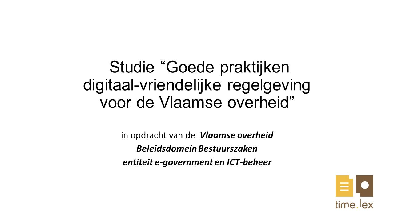 entiteit e-government en ICT-beheer