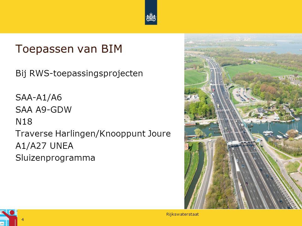 BIM en RWS Met contracten sturen we op afstand