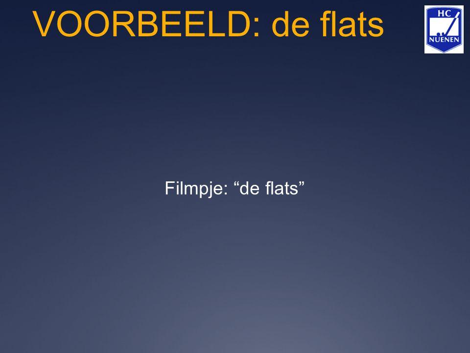 VOORBEELD: de flats Filmpje: de flats