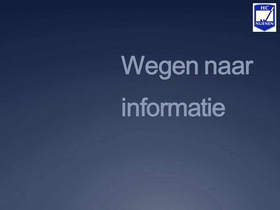 Wegen naar informatie