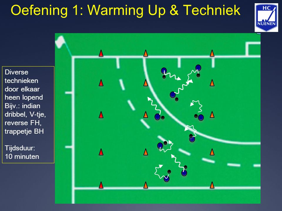 Oefening 1: Warming Up & Techniek