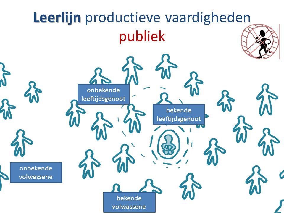 Leerlijn productieve vaardigheden publiek
