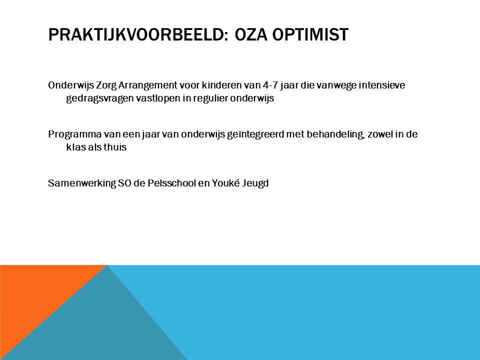 Praktijkvoorbeeld: OZA Optimist