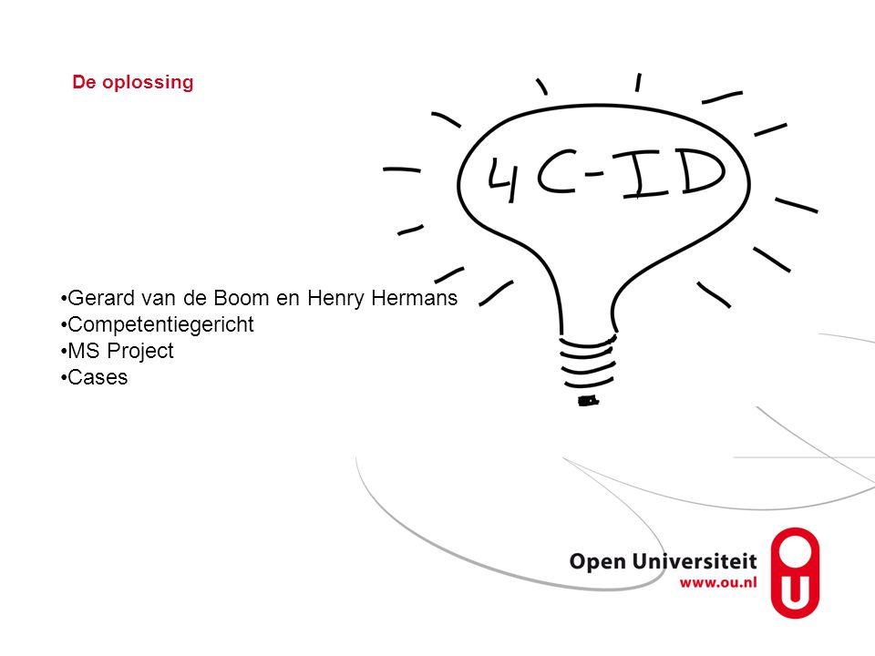 Gerard van de Boom en Henry Hermans Competentiegericht MS Project
