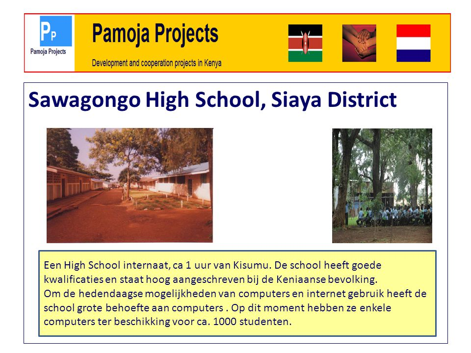 Sawagongo High School, Siaya District