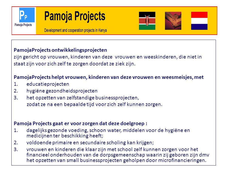 PamojaProjects ontwikkelingsprojecten