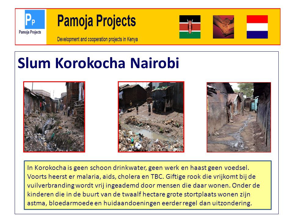 Slum Korokocha Nairobi