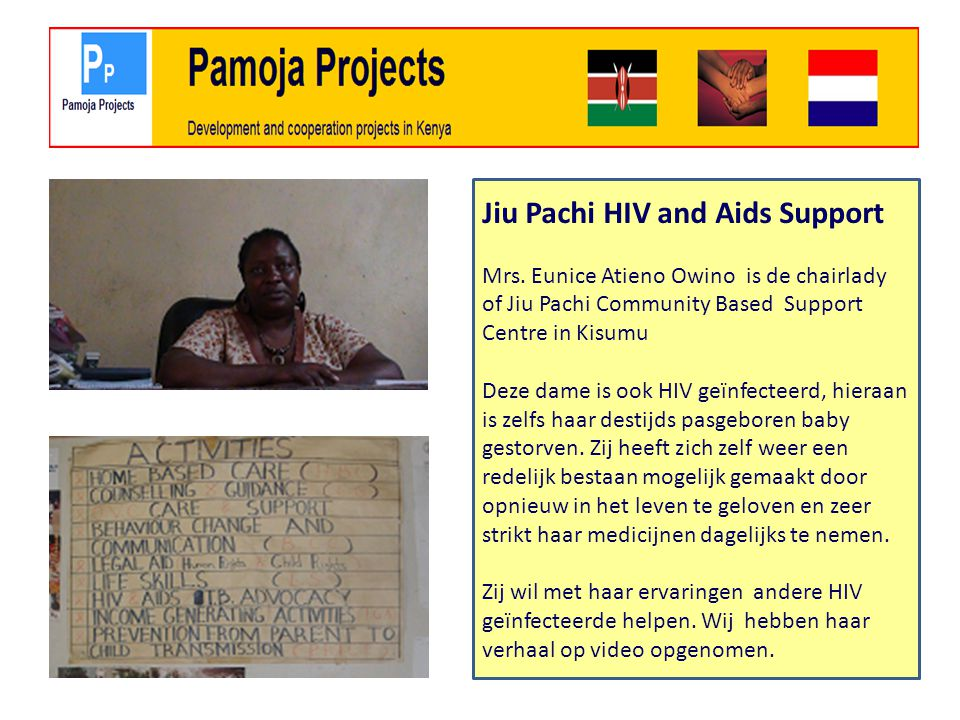 Jiu Pachi HIV and Aids Support