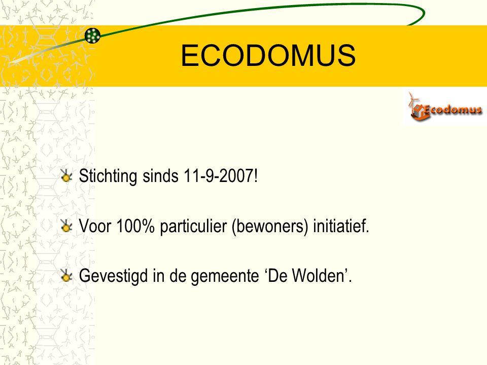 ECODOMUS Stichting sinds 11-9-2007!