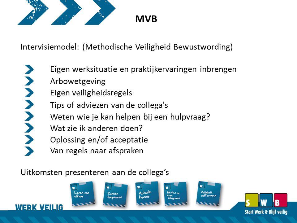 MVB Intervisiemodel: (Methodische Veiligheid Bewustwording)