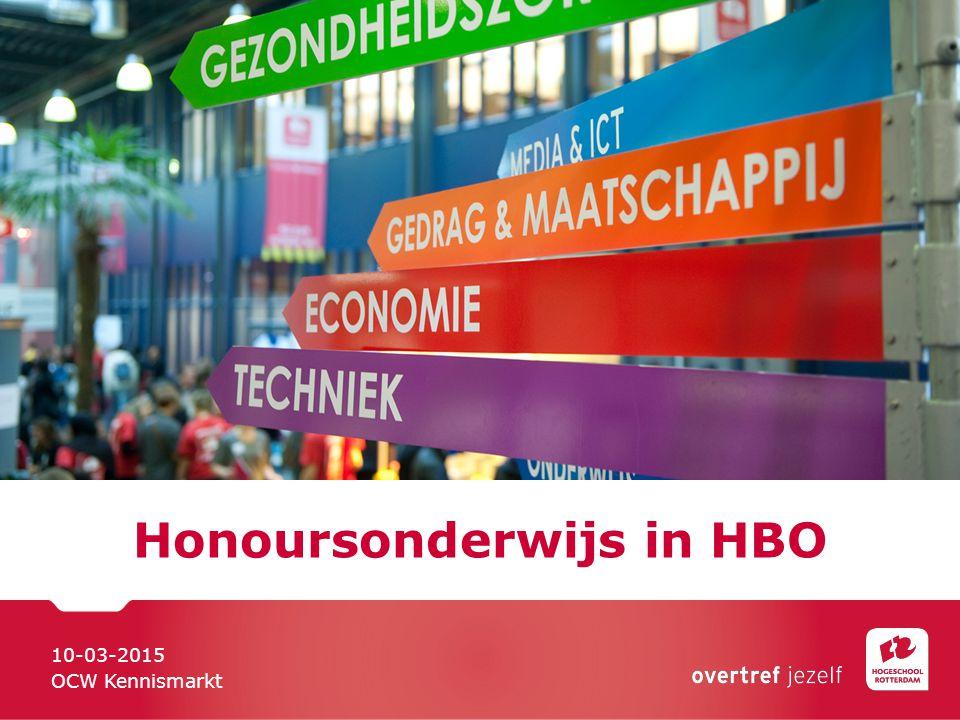 Honoursonderwijs in HBO
