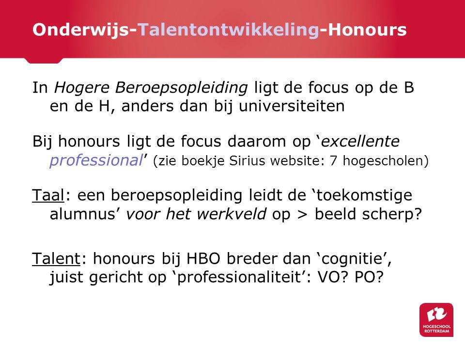 Onderwijs-Talentontwikkeling-Honours