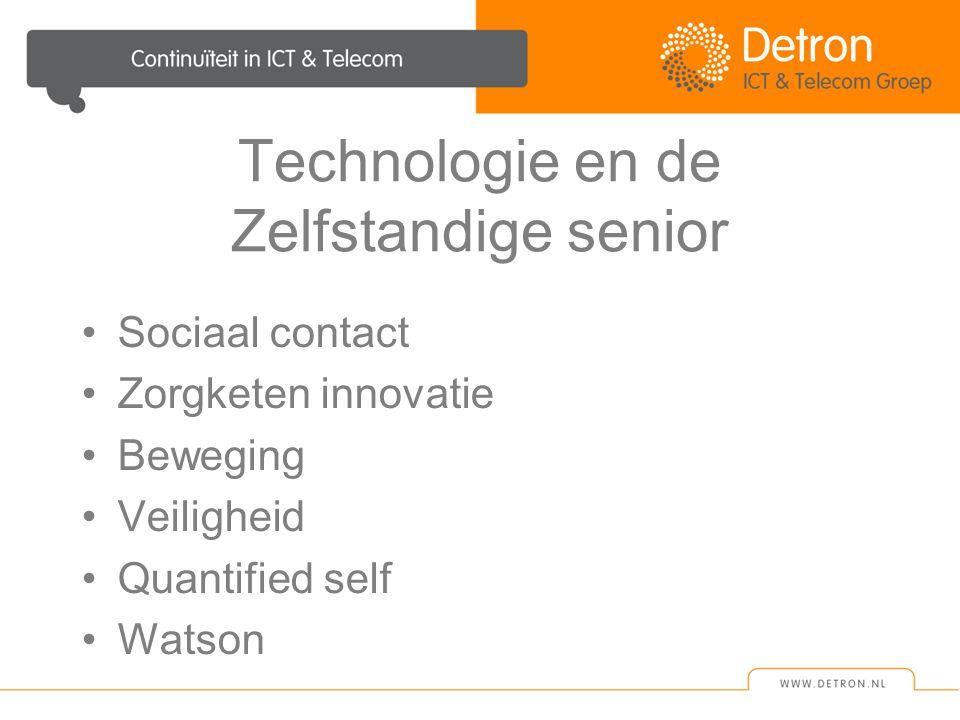 Technologie en de Zelfstandige senior