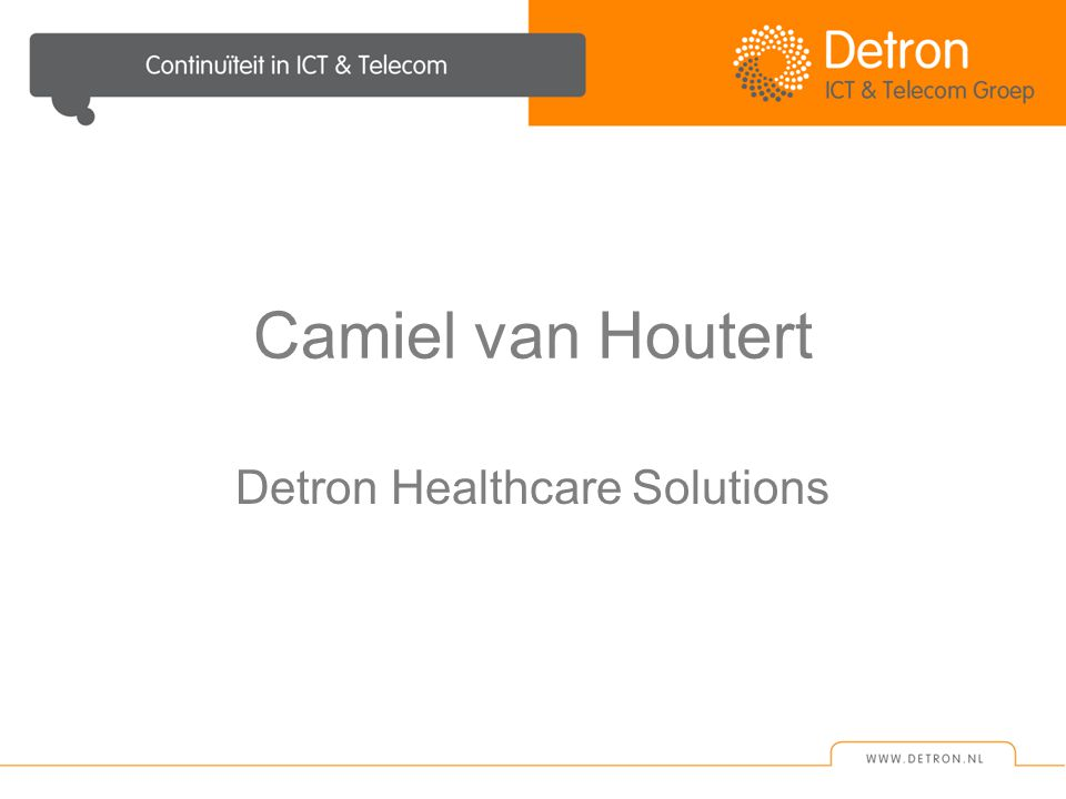 Detron Healthcare Solutions